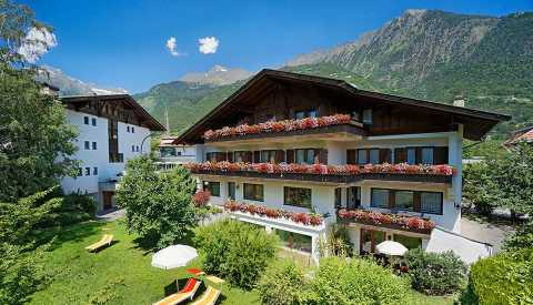 Pension Haller in Algund near Merano, South Tyrol